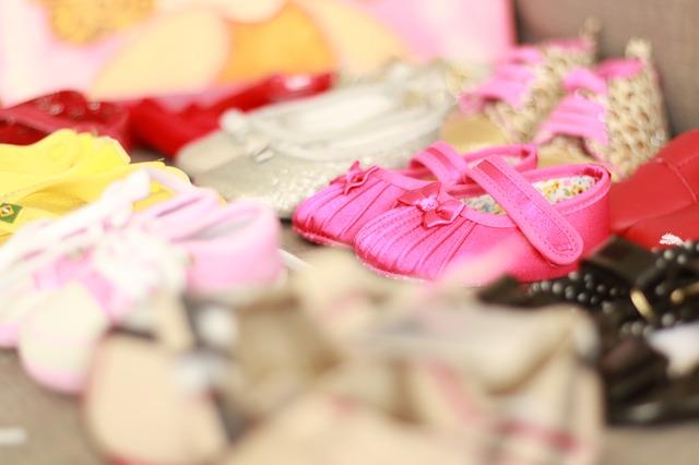 malé dívčí boty