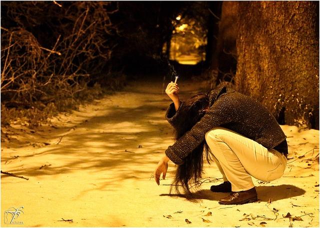 zoufalá dívka