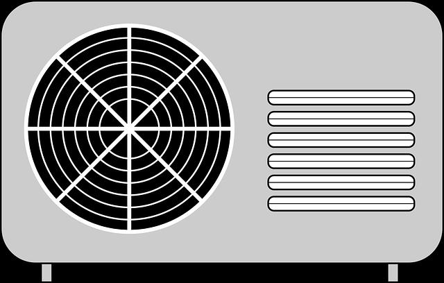 klimatizace nákres