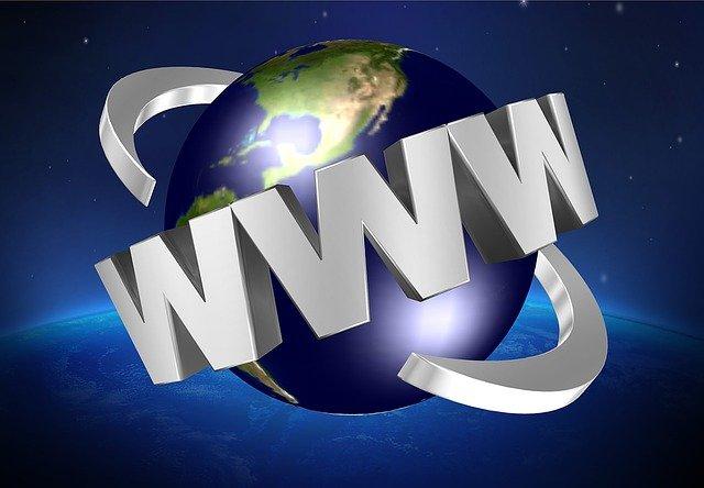 svět s internetem