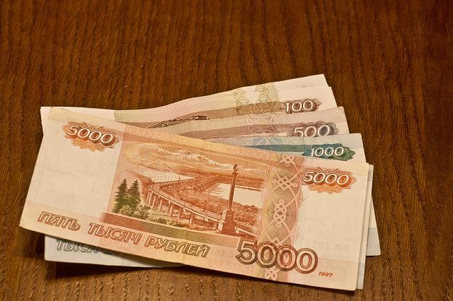 rubly v bankovkách