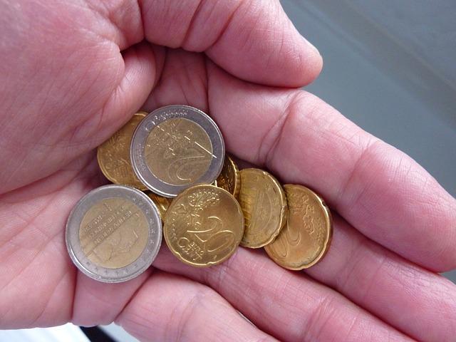 euromince v dlani