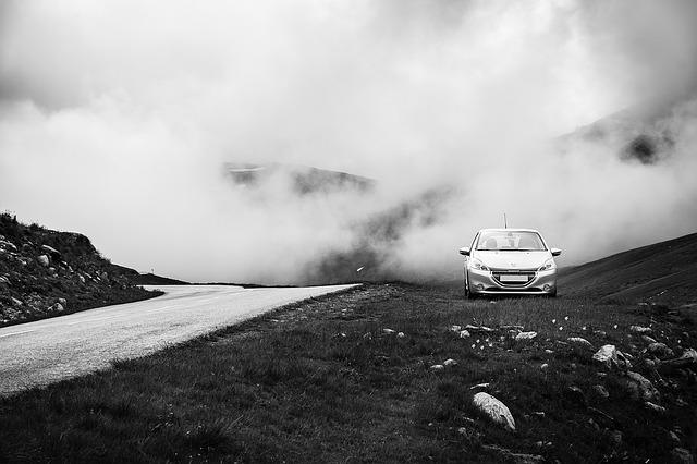 auto v terénu
