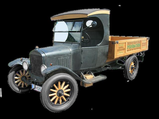 starší nákladní auto